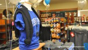 Sussex County Community College Gear on display at the store.