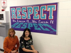 Mrs. Tracey Hensz, Principal (left) Mrs. Lisa Schuffenhauer, Counselor (right)