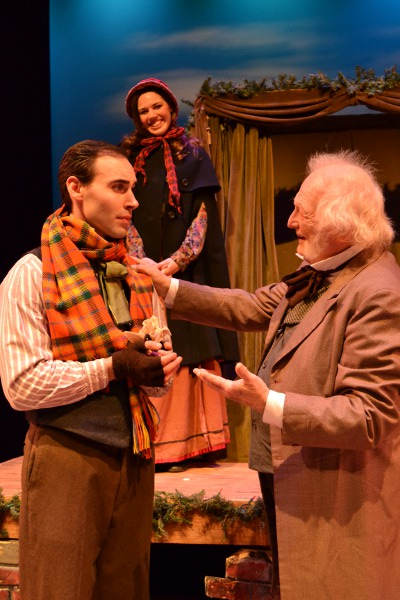 Bob Cratchit & Scrooge - Nicholas Wilder and Paul Meacham