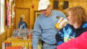 "New Jersey Labor Commissioner Hal Wirths, volunteering his time during the ""Season of Service"" in Sussex."