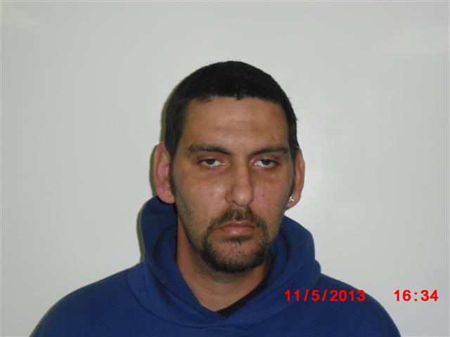 Sussex Resident 32-year-old Michael J. Bello  (Photo courtsey of the Sparta Twp. Police Dept.)