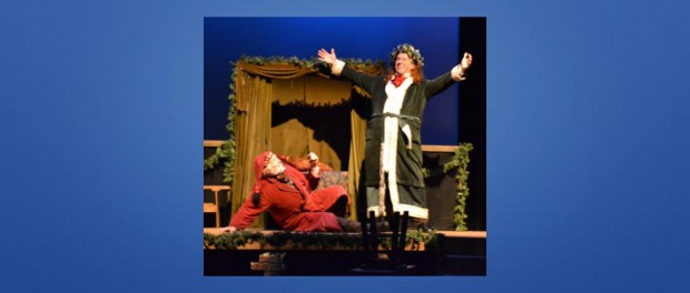 Scrooge & Christmas Present - Paul Meacham and Daniel Mian