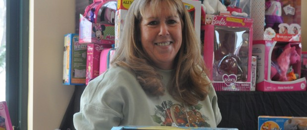 Patricia Wolfrum, one of the volunteers at the Toy Shop.