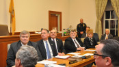 Sussex County Freeholders at their swearing in event.