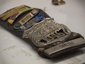 Moira Smith's badge...one of New York's finest who sacrificed all for many on 9/11/01.