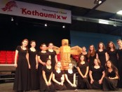 Members of the Children's Chorus of Sussex County Concert Choir placed second in the Kathaumixw International Choral Festival in British Columbia. Photo courtesy of the Children's Chorus of Sussex County.