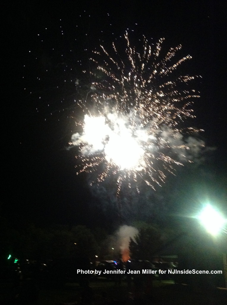 Franklin Fireworks, photo by Jennifer Jean Miller.