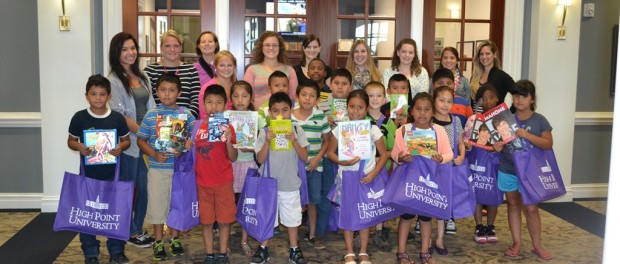 High Point University Summer Reading Institute. Photo courtesy of High Point University.