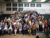 Stevenson University National Honor Society. Photo provided by Stevenson University.