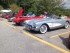 Corvettes from the 60s to the present day were lined up for the show. Photo by Jennifer Jean Miller.