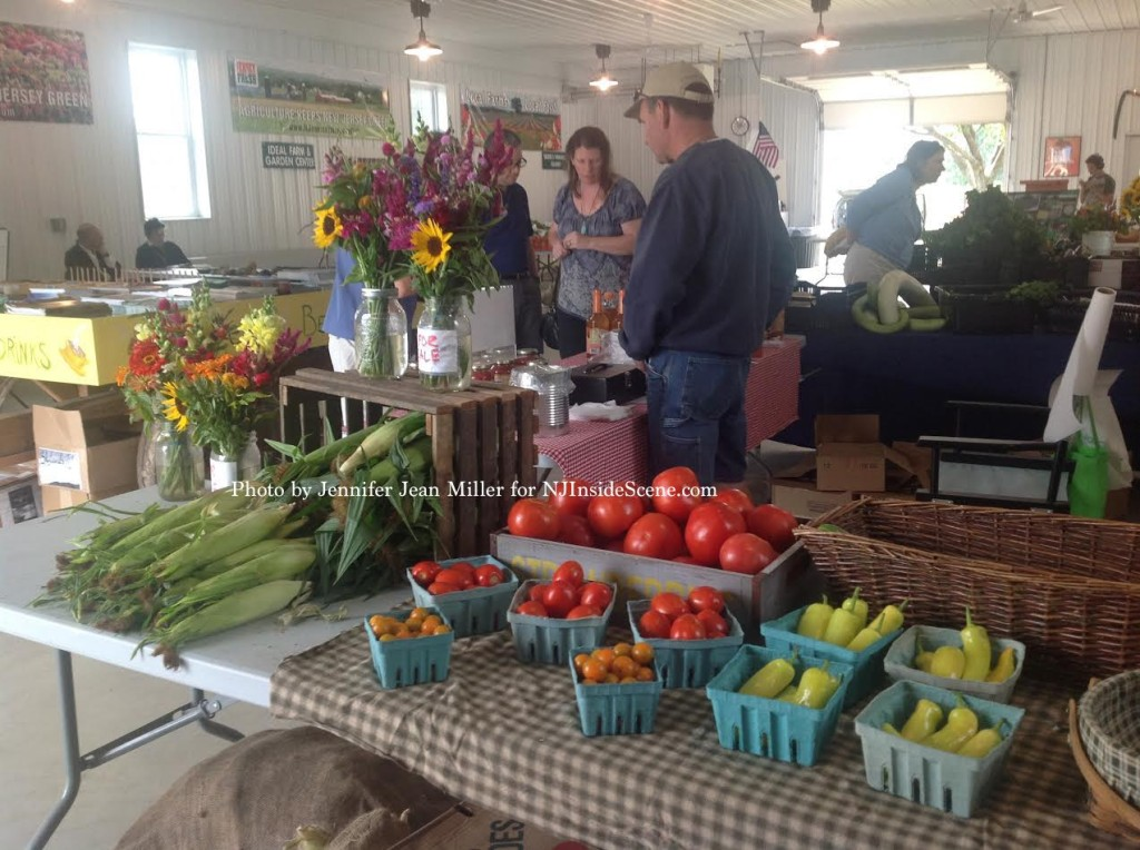 Shoppers enjoy the Sussex County Farmers Market. Photo by Jennifer Jean Miller.