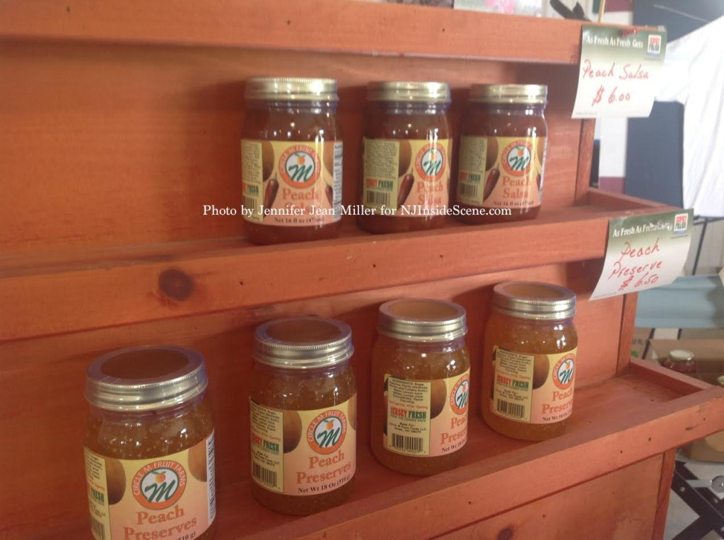 Jersey Fresh Peach Salsa and Preserves. Photo by Jennifer Jean Miller.