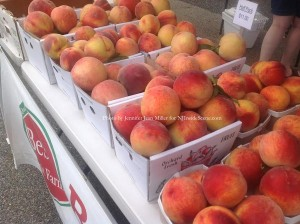 Jersey Fresh Peaches from Best Fruit Farm. Photo by Jennifer Jean Miller.