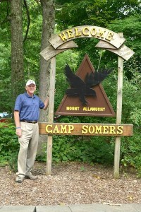 Chuck Roberts at Mount Allamuchy Scout Reservation-Camp Somers located in Stanhope. Photo courtesy of the Boy Scouts of America. Patriots' Path Council.