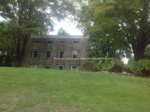 The Old Stone House, a building that needs repair at Waterloo Village. Photo by Jennifer Jean Miller.