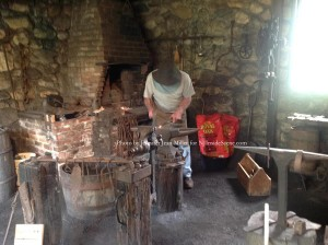 A blacksmith demonstration was one of the day's highlights. Photo by Jennifer Jean Miller.