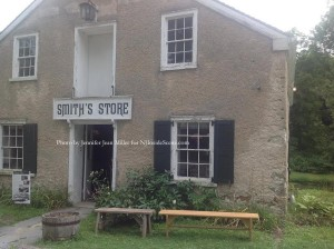 An exterior view of the front of Smith's Store. Photo by Jennifer Jean Miller.