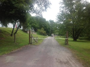 The road entering into Waterloo Village. Photo by Jennifer Jean Miller.