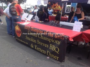 The Smokin' Steves team at the festivities. Photo by Jennifer Jean Miller.