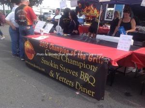 The Smokin' Steves team at the festivities. Photo by Jennifer Jean Miller.