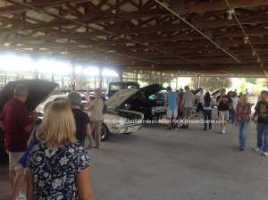 Classic cars on display at the festival. Photo by Jennifer Jean Miller.
