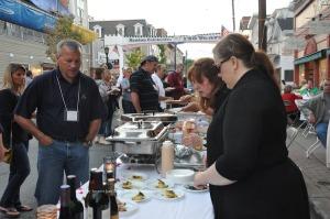 Establishments offer a range of cuisine to try. Photo by Jennifer Jean Miller.
