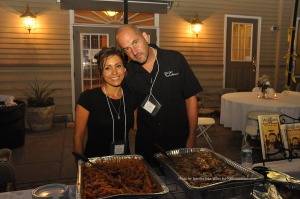 Brittany and Mike Collins of Villa Capri dished out Italian specialties. Photo by Jennifer Jean Miller.