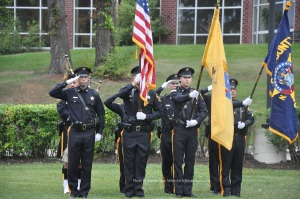 The Sussex County Sheriff's Office as Color Guard. Photo by Jennifer Jean Miller.