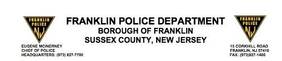 Franklin Borough Police copy