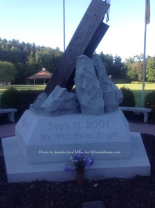 The 9/11 Memorial at Sussex County Community College. Photo by Jennifer Jean Miller.