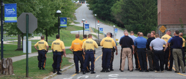 FBI Alert Training at Sussex County Community College. Photo courtesy of SCCC.