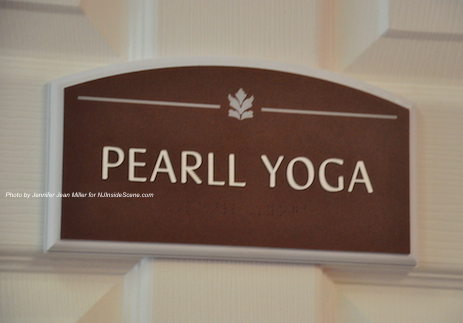 PEARLL's sign to enter into the studio. Photo by Jennifer Jean Miller.