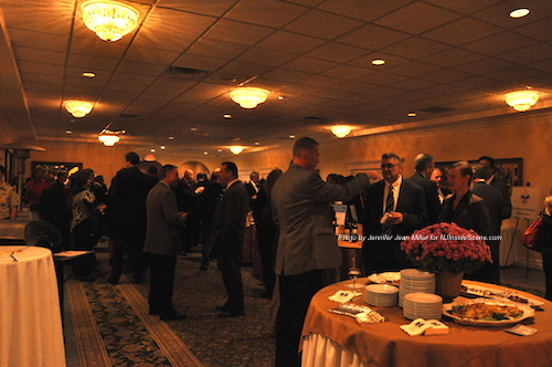 Guests mingling at the Distinguished Citizen Award Dinner event. Photo by Jennifer Jean Miller.