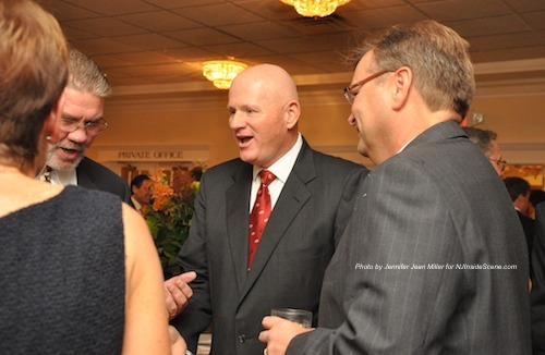 Chuck Roberts (middle), honoree at the Sussex County Distinguished Citizen Award Dinner. Photo by Jennifer Jean Miller.
