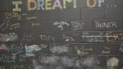 A wall where visitors to the Franklin Cares location shared their dreams. Photo by Jennifer Jean Miller.