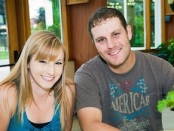 Lauren Horsfield and Kevin Bush. Photo provided.