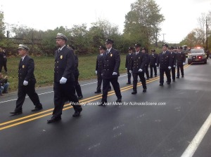 The Branchville Fire Department. Photo by Jennifer Jean Miller.