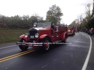 A vintage engine from Ogdensburg. Photo by Jennifer Jean Miller.