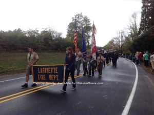 The Lafayette Fire Department. Photo by Jennifer Jean Miller.