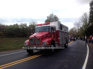 Another Byram Township Fire Engine. Photo by Jennifer Jean Miller.