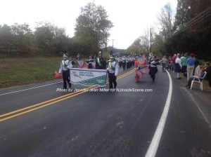 Hopatcong High School's Marching Band. Photo by Jennifer Jean Miller.