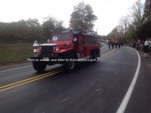 A vintage fire engine from Hopatcong. Photo by Jennifer Jean Miller.