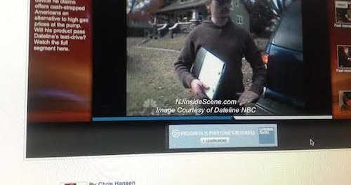 Samuel K. Burlum recorded with hidden cameras on a Dateline NBC Expose in 2009. Image courtesy of Dateline NBC.