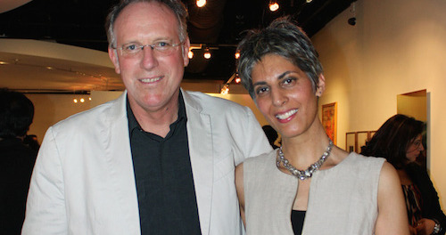 Bruce Dehnert and Kulvinder Kaur Dhew. Photo courtesy of Sussex County Community College.