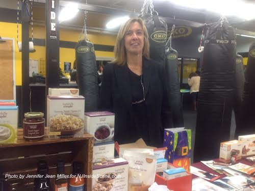 Sally Abruzzo of Tastefully Simple and Isagenix was one of the vendors. Photo by Jennifer Jean Miller.