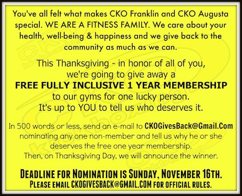 CKO Gives Back copy