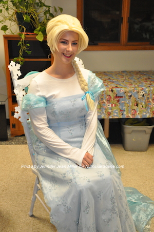 "Elsa from ""Frozen"" was one of the special guests. Photo by Jennifer Jean Miller."
