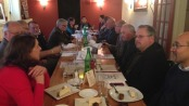 Local pastors meet with Ginnie's House for a pastors' lunch. Photo courtesy of Ginnie's House.