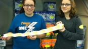 Youth from Hopatcong, Teegan Dougherty and Aubrey McCarrick. Photo courtesy of the Center for Prevention and Counseling.