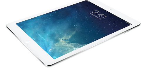Coming Home Rescue of Rockaway is raffling off an iPad Air as part of a fundraising effort to enable the group to rescue more dogs, and to place them in loving homes. Photo courtesy of Apple.